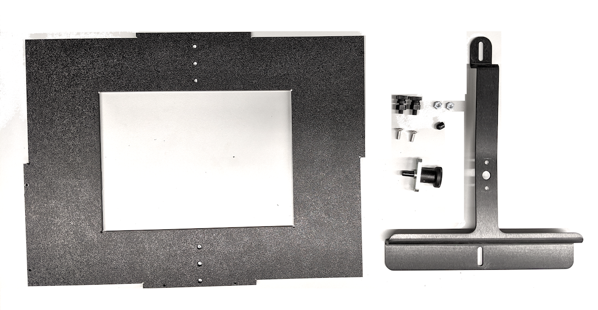 Tablet mount parts