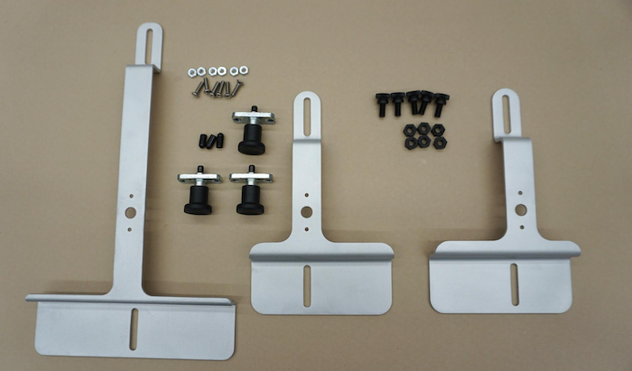 Tablet and phone mount parts